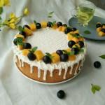 酸奶淋面蛋糕#美的FUN烤箱.焙有FUN儿#