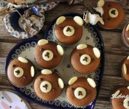 蜂蜜小熊杯子蛋糕