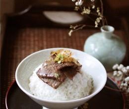 石锅雪花和牛丼