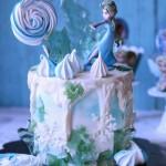 冰雪奇缘生日蛋糕#美的FUN烤箱·焙有FUN儿#