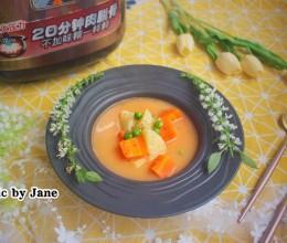 电压力锅食谱-牛骨浓汤