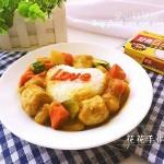 爱心肉丸咖喱饭#百梦多Lady咖喱#