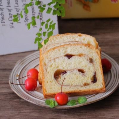 果干肉桂吐司面包