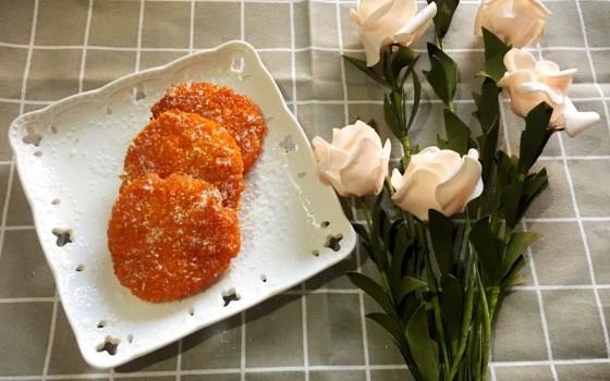 雪花红薯饼