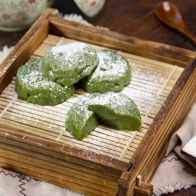 抹茶豆腐团子