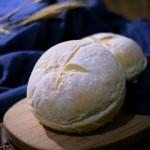 松軟低糖主食基礎面包胚(面包碗)