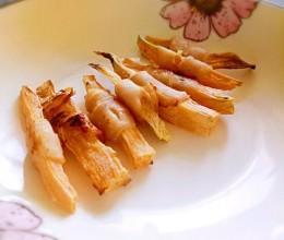 狗狗零食——红薯缠鸡胸肉(烤箱版)