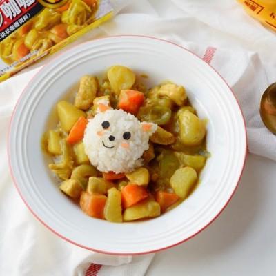 土豆咖喱鸡肉饭