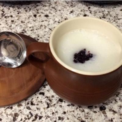 蓝莓山药粥