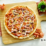 快手香肠披萨