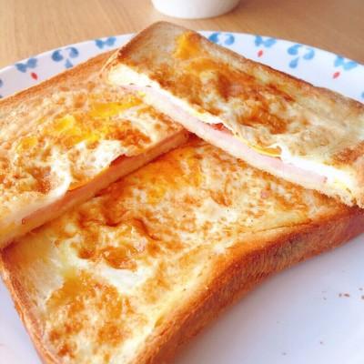 一片面包的三明治