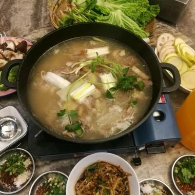 清炖羊肉火锅