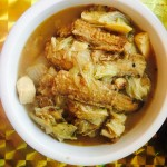 白菜豆腐炖带鱼
