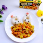 牛肉胡萝卜小鸡咖喱饭#百梦多Lady咖喱#