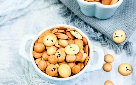 蛋奶黄金豆饼干