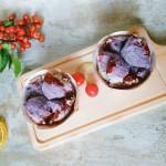 紫薯蔓越莓蒸米糕