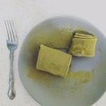 日食記——抹茶毛巾卷