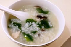 懒人营养香菇鸡丝粥