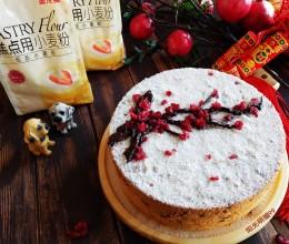 红梅报春戚风蛋糕(8寸)