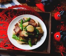 荸荠炒酱肉#新年新招乐过年#