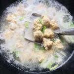 马蹄子肉丸汤