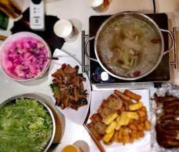 蔬菜养生火锅
