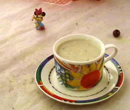 百合莲子豆浆