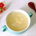白萝卜虾皮汤