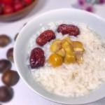 红枣板栗粥