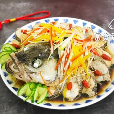 春节食谱-富贵开屏鱼