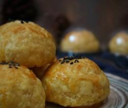 fluff金沙奶黄蛋挞酥