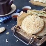 香葱芝麻烤饼