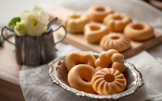 【蛋香甜甜圈蛋糕】