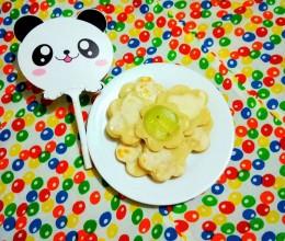 奇异果花饼    #雀巢花样早餐大挑战#