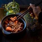 黑腐竹羊肉煲