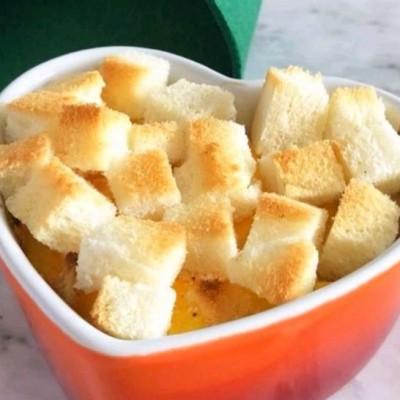 烤面包南瓜布丁