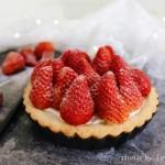 草莓芝士挞#美的烤箱#