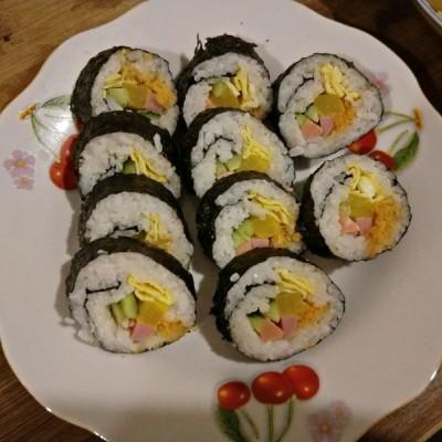 壽司的做法和材料