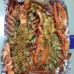 黄油芝士焗龙虾