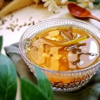 海带绿豆薏米糖水