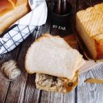 英式奶茶炼乳吐司(波兰种)超软面包早餐