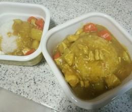 咖喱鸡饭(电饭煲版)