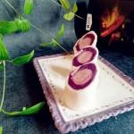 香肠紫薯吐司卷
