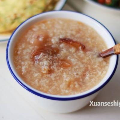 蜜枣桂圆糯米粥