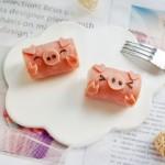 小萌豬火腿飯團