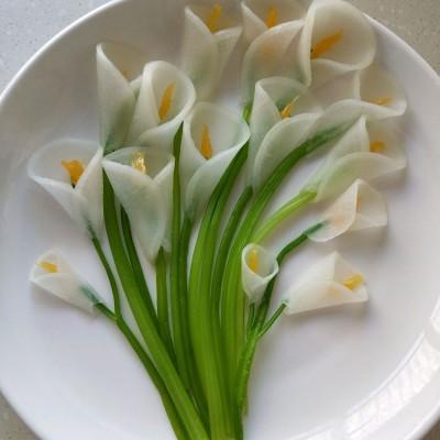 芹梗白蘿卜花(水果拼盤)