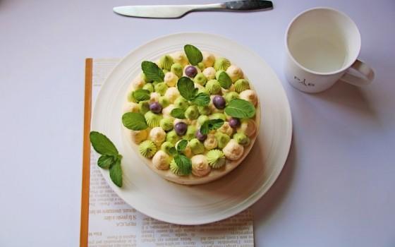 青岚抹茶蛋糕