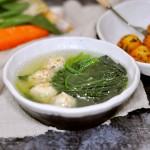 菜蔬鸡肉丸子  白煮&油炸