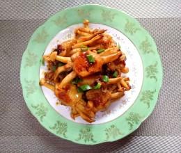 鸡翅海鲜菇