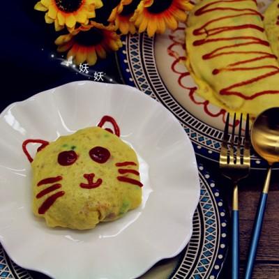 貓咪蛋包飯